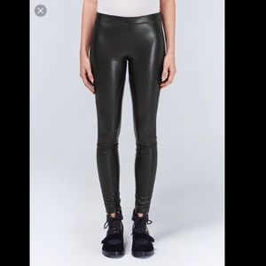 Wilfred Rebelle vegan leather leggings